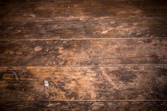 Ridit ut brunt trä Arkivbilder