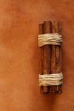 ridit ut gammalt för läder för bakgrund kanelbrunt Royaltyfri Bild