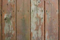 Ridit ut wood däck Arkivfoto