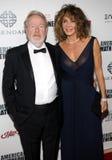 Ridley Scott y Giannina Scott Fotografía de archivo libre de regalías