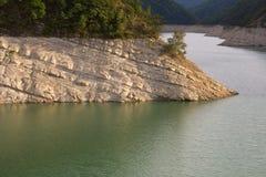 Ridracoli lake Royalty Free Stock Images