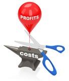 Riduca i costi Fotografia Stock Libera da Diritti