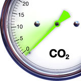 Riduca la CO2 Immagine Stock