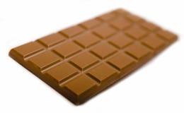 Ridurre in pani di cioccolato Fotografia Stock
