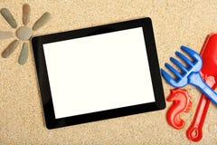 Ridurre in pani nella sabbia immagini stock
