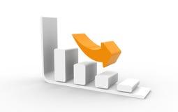 Riduzione di costo illustrazione di stock