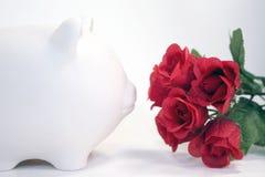 Riechen Sie die Rosen lizenzfreie stockfotografie