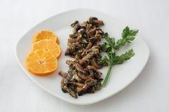 Ried mushrooms Stock Photos