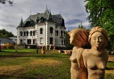 Riedel villa Stock Images