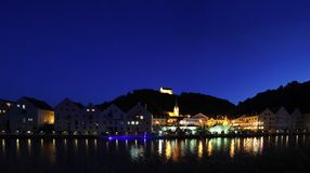 Riedenburg at Nigth Royalty Free Stock Photo