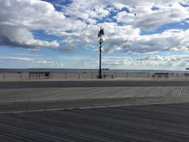 The Riegelmann Boardwalk royalty free stock images