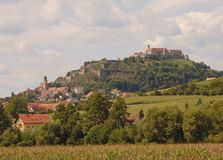 Riegersburg Panorama Stock Photos