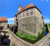 Riegersburg-Schloss über der Stadt von Riegersburg in Steiermark, Aust stockbilder