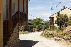 Riego de Ambros cityscape in Castilla y Leon Royalty Free Stock Images