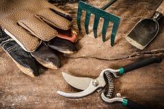 Riego del jardín tool fotografía de archivo libre de regalías