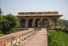 Riegue el palacio, Deeg, Rajasthán, la India imagen de archivo libre de regalías