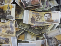 Rieles cambojanos Imagens de Stock Royalty Free
