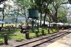 Rieles de tren Hacienda Santa Teresa Royalty Free Stock Image