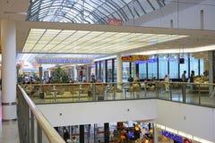 Riem Arcaden köpcentrum i Munich, Bayern Fotografering för Bildbyråer