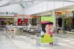 Riem Arcaden köpcentrum i Munich, Bayern Royaltyfri Bild