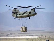 Riemen-Last Chinook Schwerer Hooker lizenzfreie stockfotografie