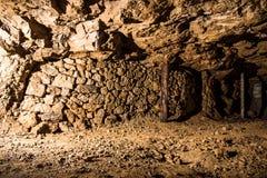Riempia in una miniera d'argento in Tarnowskie sanguinoso, sito di eredità dell'Unesco Immagine Stock Libera da Diritti