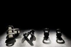 Riempie le campane del bollitore dei guanti Fotografia Stock Libera da Diritti