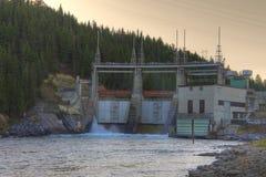 Rien électrique hydraulique Photo libre de droits