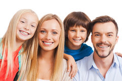 Rien mais famille ! Photos libres de droits