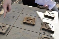 Riens et croix Photographie stock libre de droits