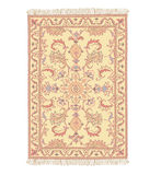 0riental carpet vector. Illustration without gradients Royalty Free Stock Photography