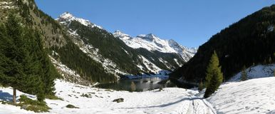 Riesachsee in Schladming Tauern Royalty Free Stock Photography