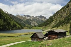 Riesachsee & Schmiedlechneralm Royalty Free Stock Photography