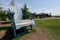 Riese Adirondack-Stuhl Lizenzfreies Stockfoto