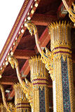 Riese bei Wat Phra Kaew Stockbild