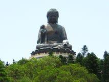 Riese Buddha auf den Berg Lizenzfreies Stockbild