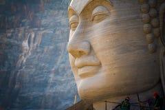 Riese Buddha schnitzte Lizenzfreie Stockbilder