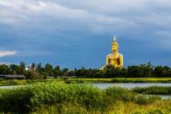 Riese Buddha Thailand Stockfoto