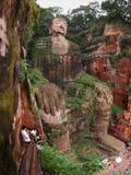 Riese Budha Stockbild