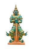 Riese in der thailändischen allgemeinen Tempel-Stellung. Lizenzfreie Stockfotografie