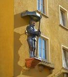 Riese Gigantyczna postać w Nordhausen Harz Niemcy fotografia stock