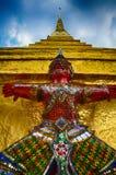 Riese im Tempel Stockfoto