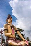 Riese-Lord Shiva-Statue weg von Srikanteshwara-Tempel in Ganjangud, Stockbild