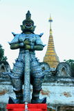 Riese in Thailand Stockfotos