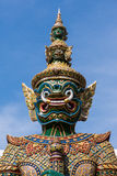 Riese, Titan, thailändische Skulptur Stockfotografie