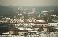 Riese village in Lithuania Royalty Free Stock Photo
