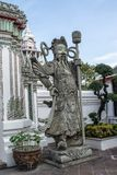 Riese Wat Pho in Bangkok Thailand Lizenzfreie Stockfotos
