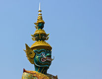 Riese Wat Pho Bangkok Thailand stockfotos