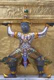 Riese, Wat Phra Kaew, Bangkok, Thailand Lizenzfreies Stockfoto