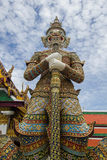 Riese in wat phra keaw Bangkok Stockbilder